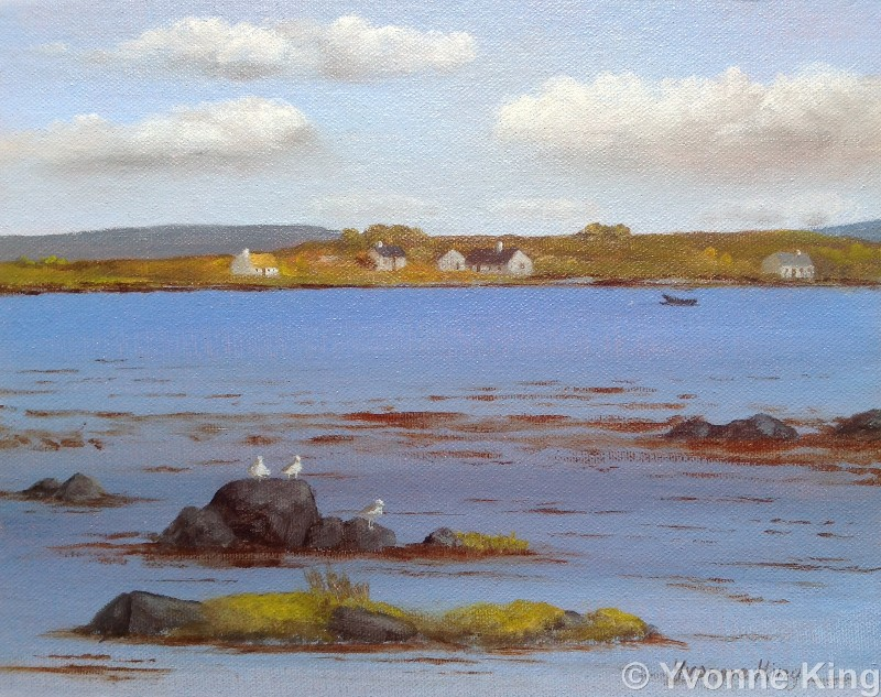 Gulls And Island Cottages