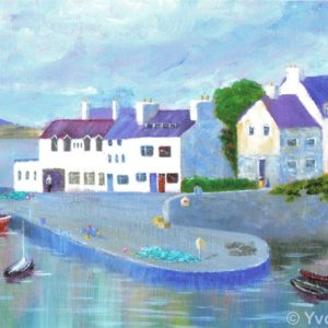 Quiet Harbour Roundstone Print