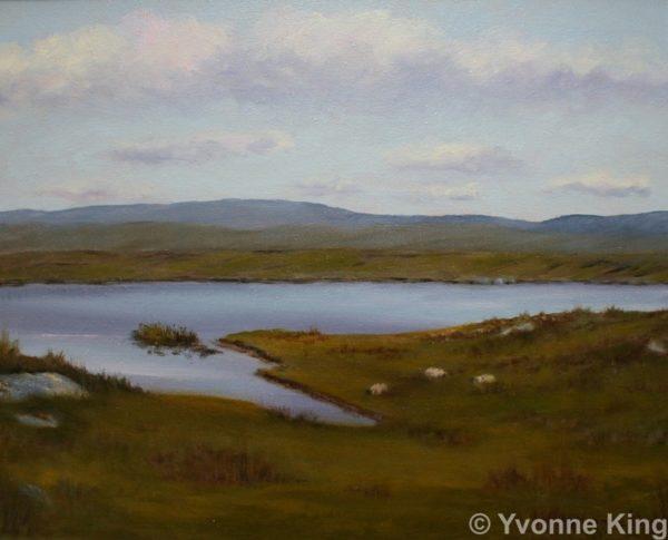 Landscape Marconi Site Across The Lake