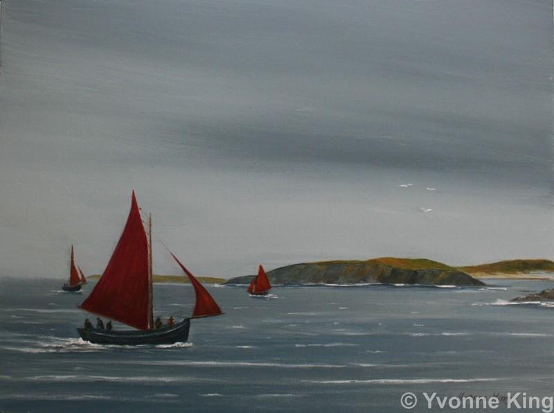 Regatta In Clifden Bay