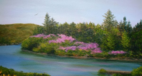 Oil Painting 20×16 Ballynahinch Serenade By Yvonne King 2014 E1466520770476 600×320