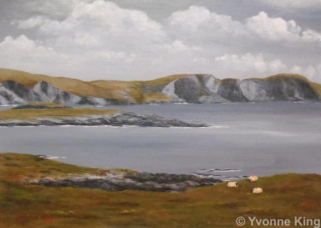 Cliffs On Achill Island