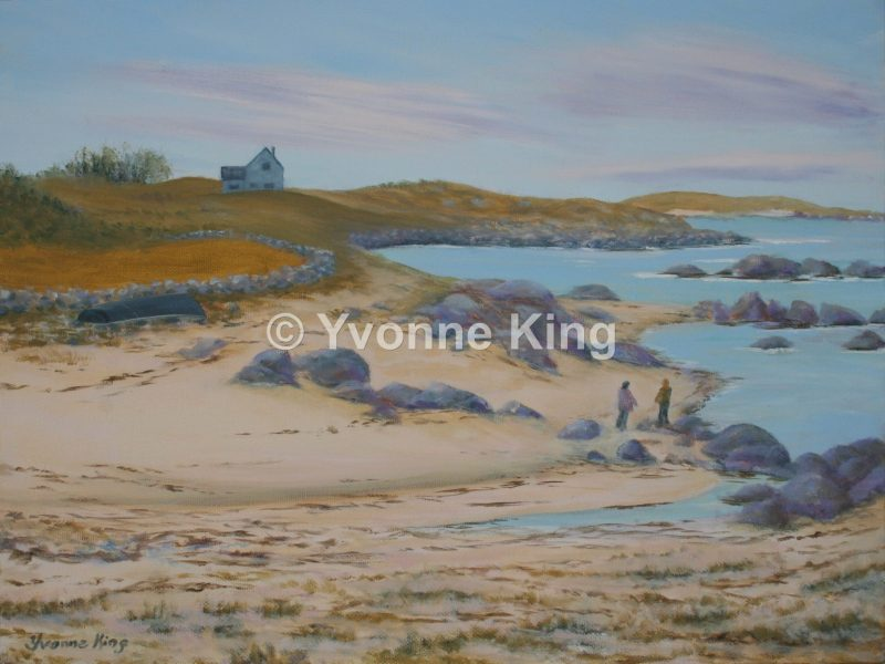 Waw03 Seascape Bymanninbay 16×12 Oil Yvonne King