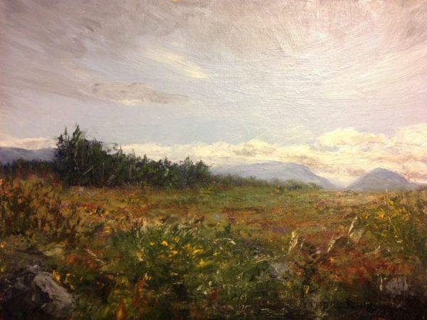 """Wild Land, 16 X 12"""", Oil On Canvas Panel"""