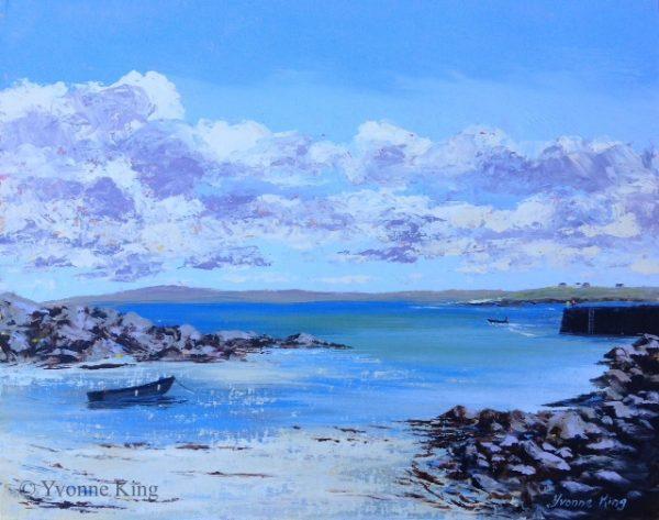 Island Ferry by Yvonne King
