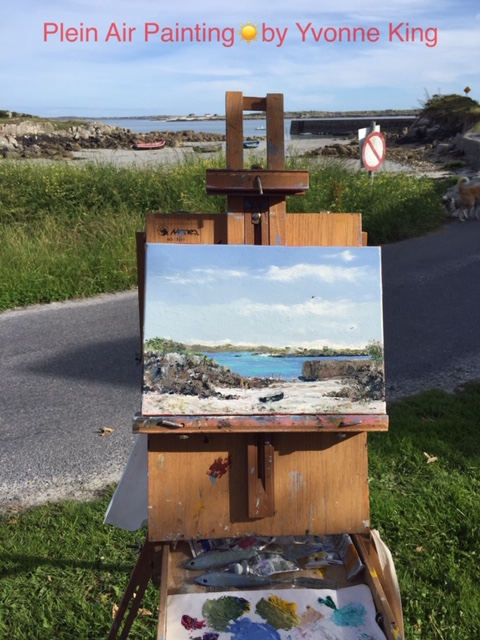 PleinAir Painting, Yvonne King